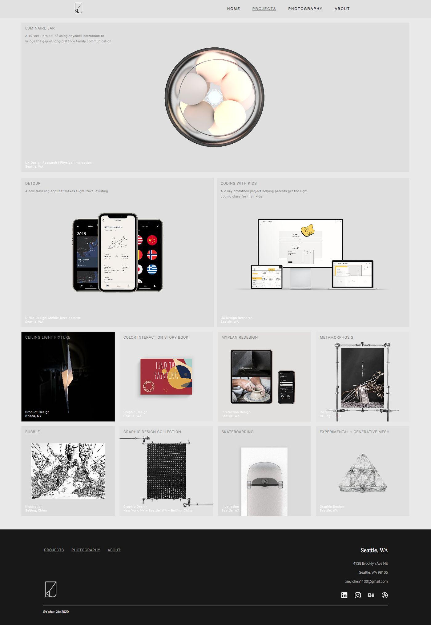 Yichen Xie portfolio