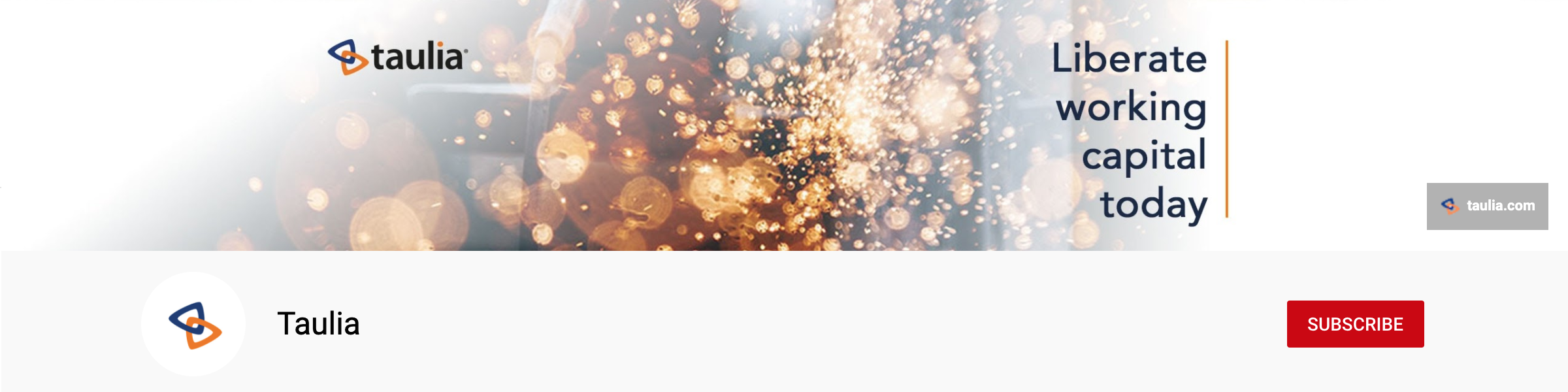 taulia youtube banner
