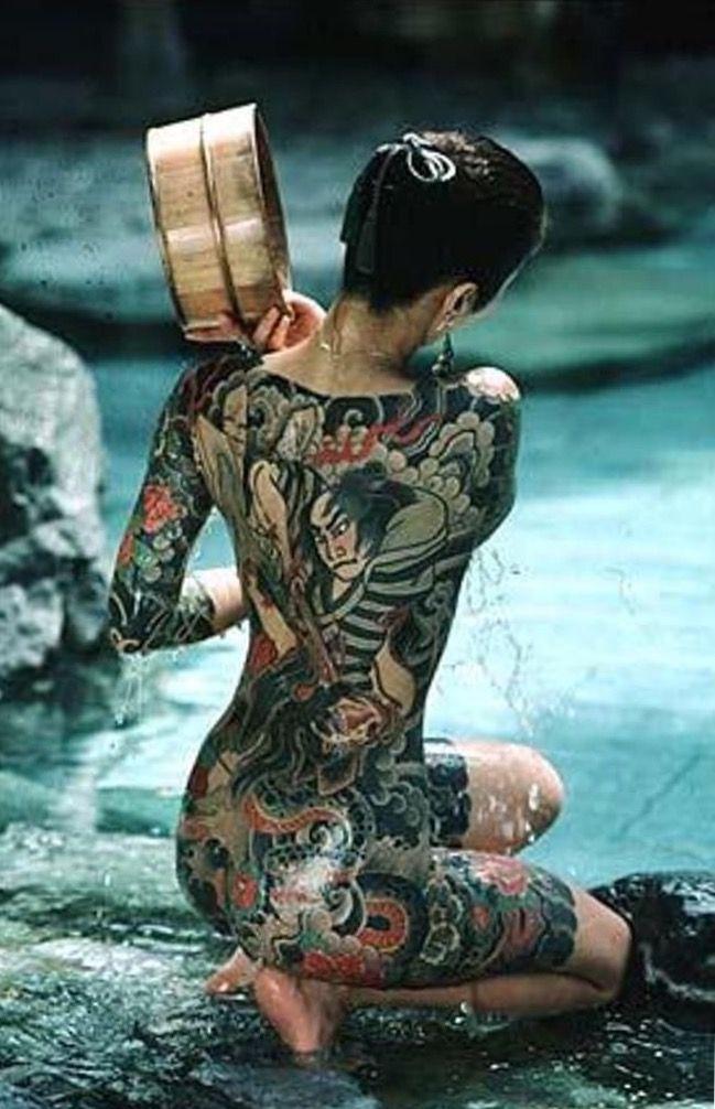 traditional japanese tattoo full body woman tattoo