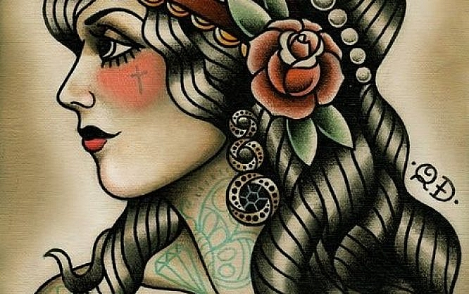 Greatest Traditional Tattoo Examples A Noupe Showcase