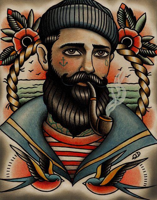 traditional american tattoo sailor tattoo