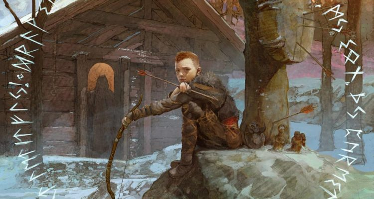 god of war concept art atreus