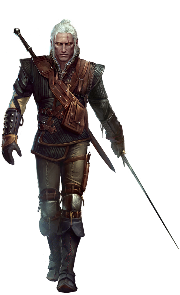 fantasy concept art geralt of rivia