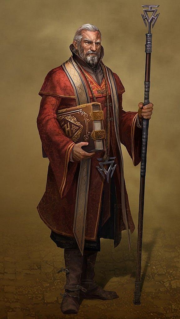 fantasy concept art preacher