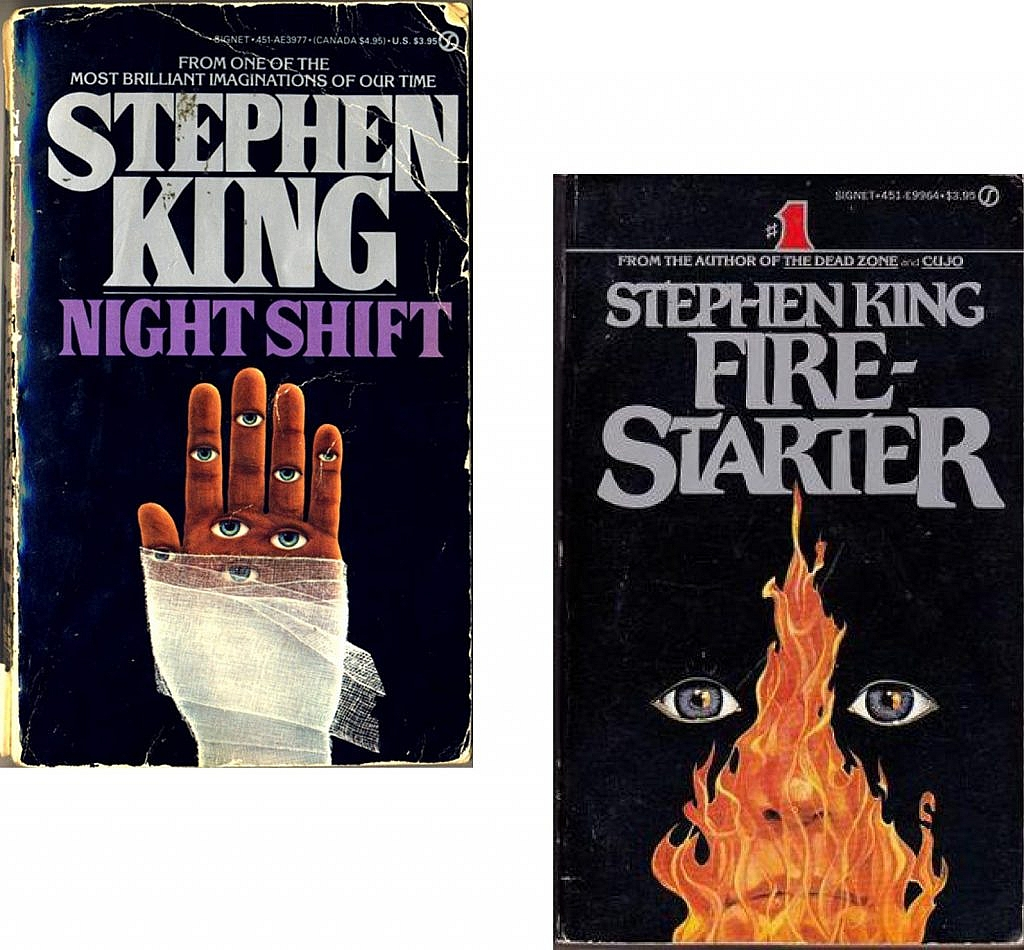 stephen king book covers