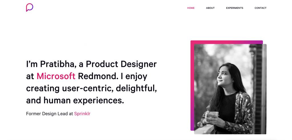 Pratibha Joshi UX Designer Portfolio