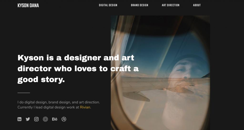 Kyson Dana UX Designer Portfolio