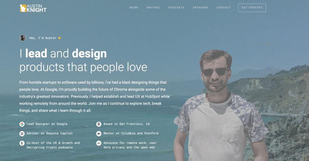 Austin Knight UX Designer Portfolio