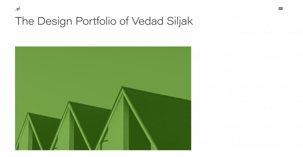 Vedad Siljak UX Designer Portfolio