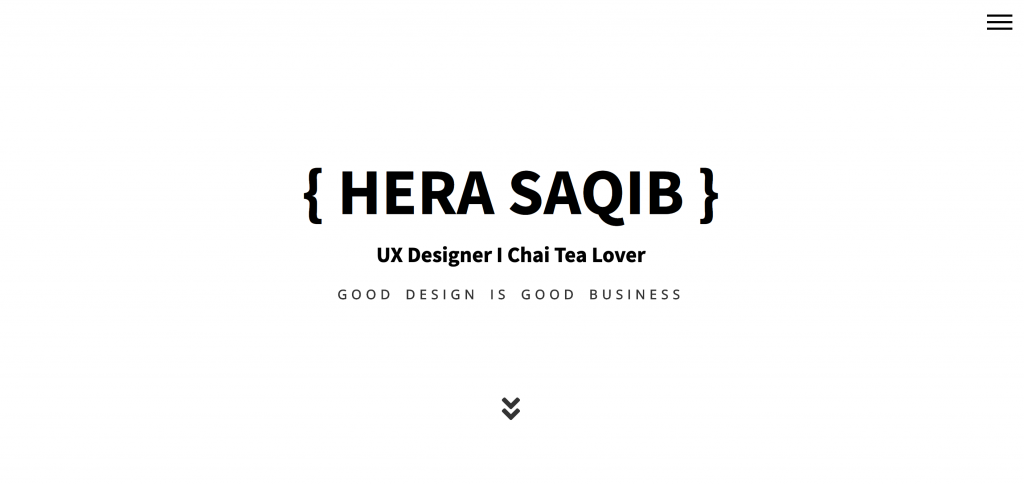 Hera Saqib UX Designer Portfolio