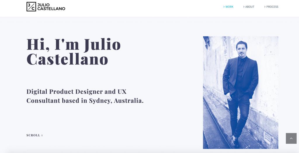 Julio Castellano UX Designer Portfolio