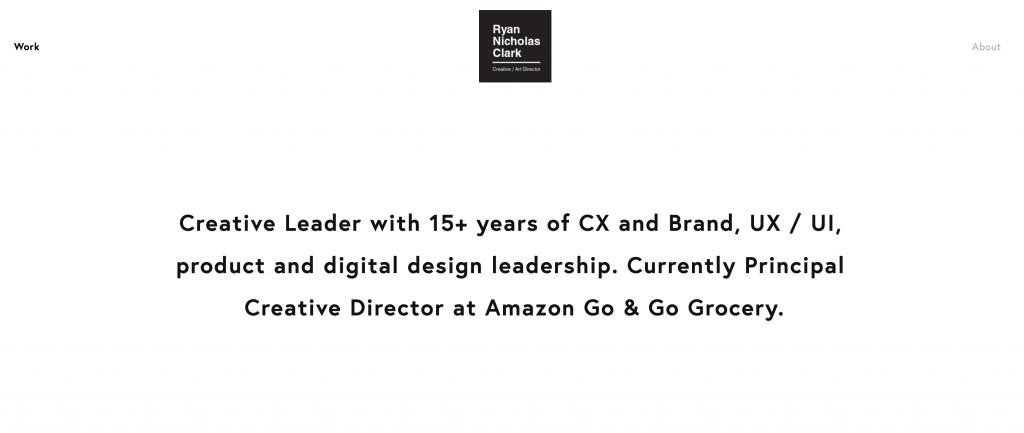 Ryan Nicholas Clark UX Designer Portfolio