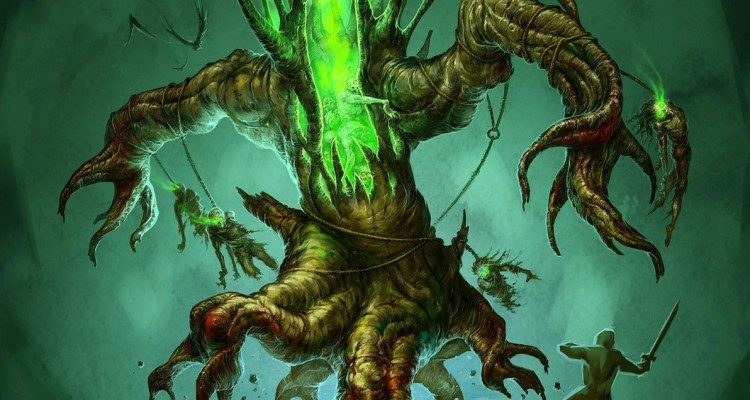 diablo concept art poisonous tree