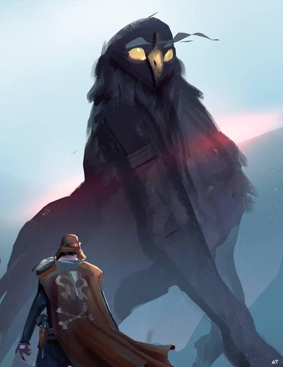 fantasy concept art sphinx