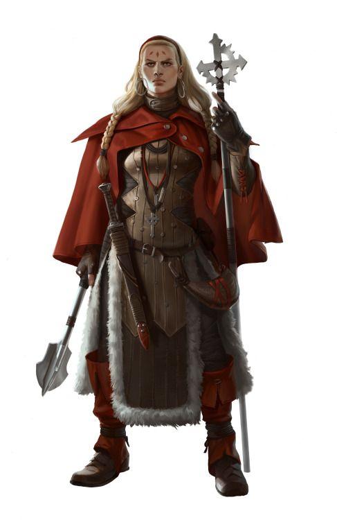 fantasy concept art fanatic priest