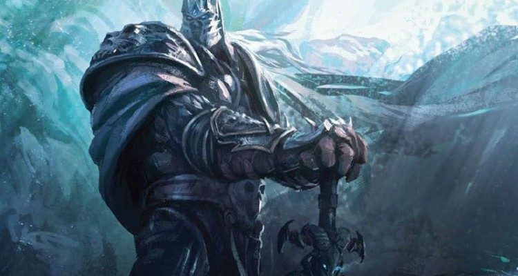 wow concept art the lich king