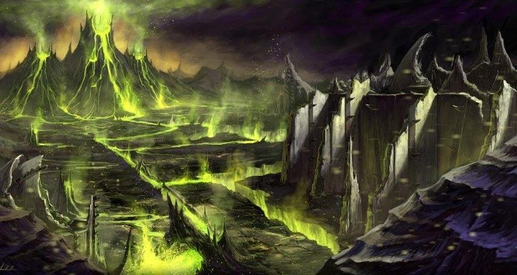 wow concept art shadowmoon valley