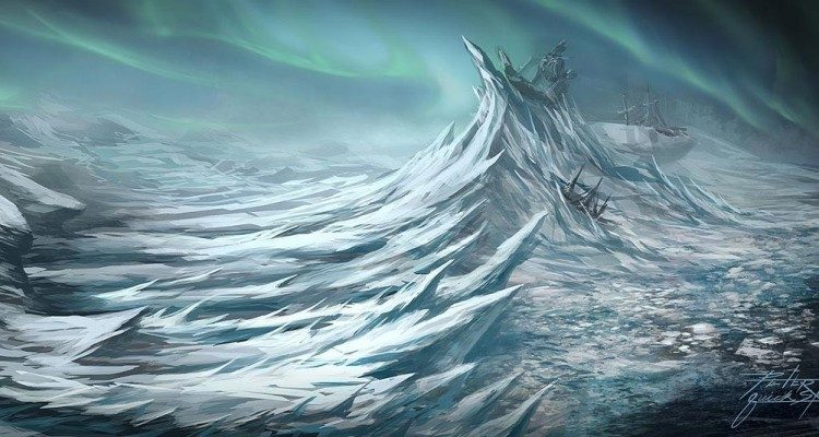 wow concept art hrothgar's landing