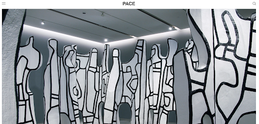 Pace Gallery Art gallery websites