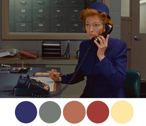 Vintage color palette pastel main colors