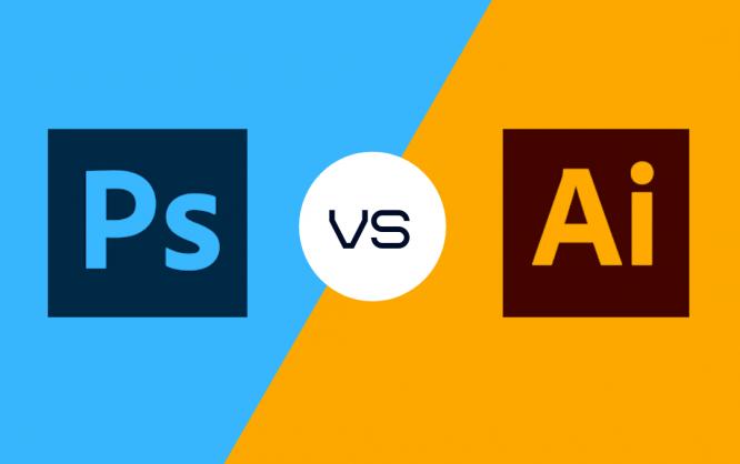 Photoshop vs Illustrator