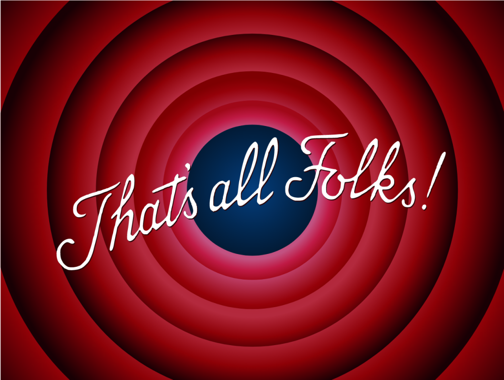 That's all folks! (End of this no-code blog article)