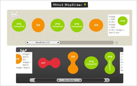 35 useful jquery plugins for slideshows graphs and text effects noupe jquery plugin mopslider 24 ccuart Choice Image