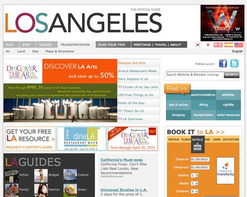 Showcase Of City Tourism Website Designs Noupe