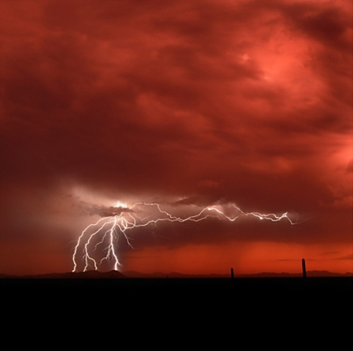 lightning_sunsetsky