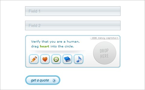 Ajax Fancy Captcha - jQuery plugin - WebDesignBeach.com