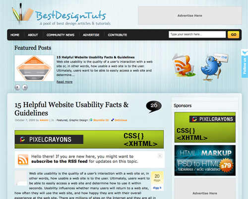 15 helpful website usability facts guidelines