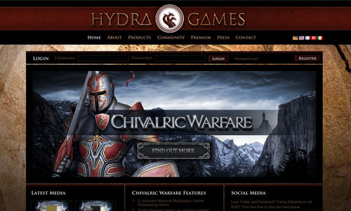 Hydra Games dark mood