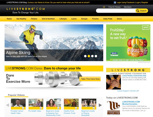 Livestrong Photography Example