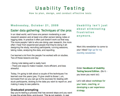 Usability testing toolkit resources articles and for Usability test plan template