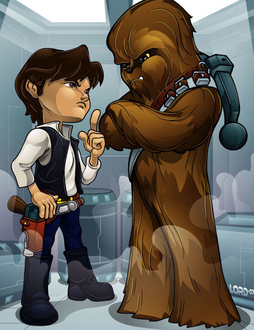 Lil_Han_and_Chewy_by_lordmesa