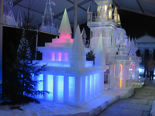 Fantastic ice castles