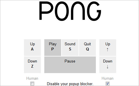 Browser Pong