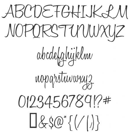 cool cursive writing