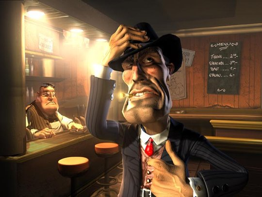 Image: Michael Sormann - Bar Scene 1