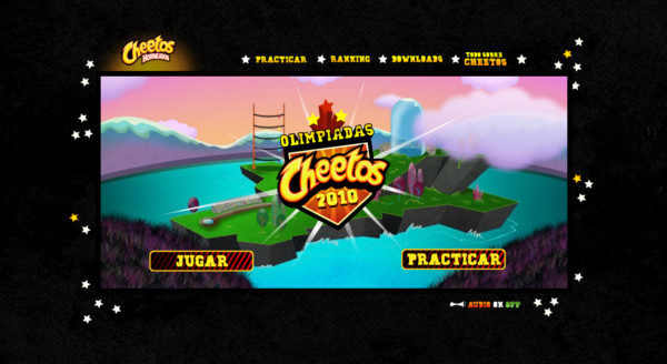 Cheetos On Showcase Of Web Design In  Argentina