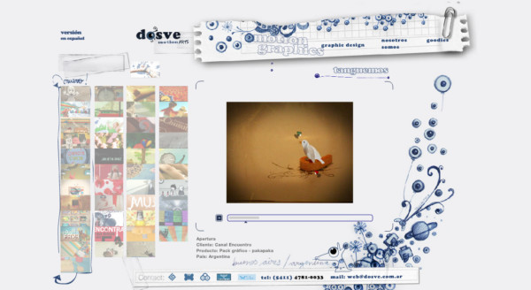 Dosve On Showcase Of Web Design In  Argentina
