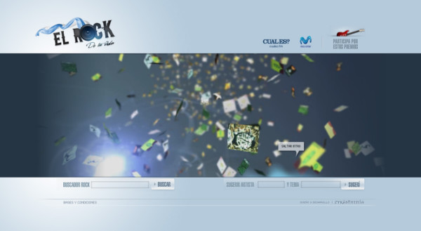 El Rock De Tu Vida On Showcase Of Web Design In  Argentina