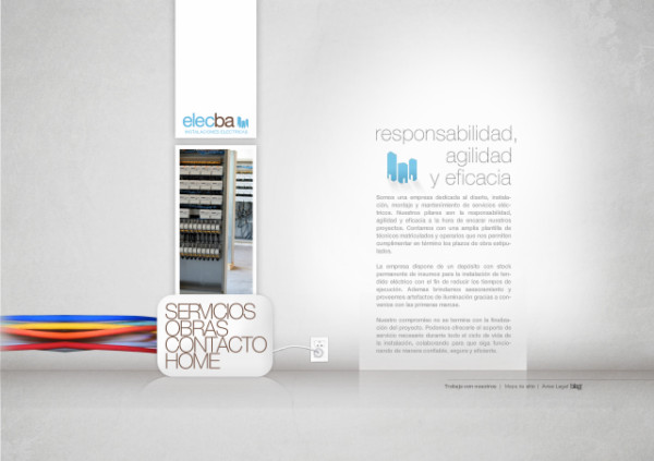 ElecBa On Showcase Of Web Design In  Argentina