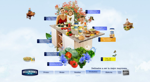Hellmann's On Showcase Of Web Design In  Argentina