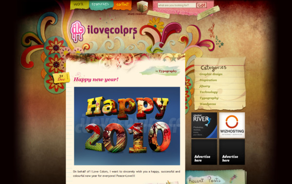 I Love Colors On Showcase Of Web Design In Argentina