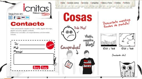 Icnitas On Showcase Of Web Design In Argentina