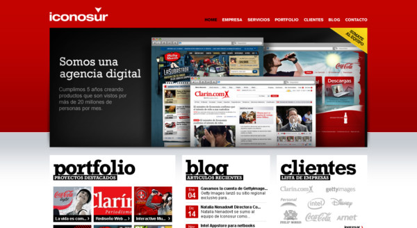 Iconosur On Showcase Of Web Design In Argentina