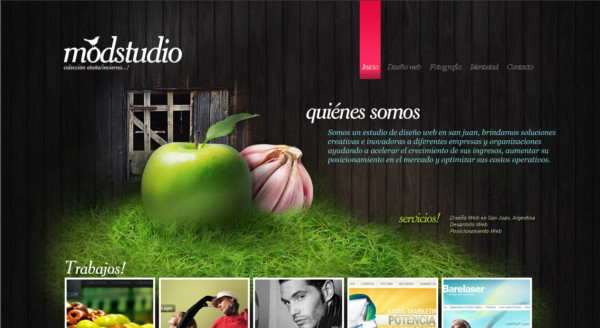 Mod Studio On Showcase Of Web Design  In Argentina