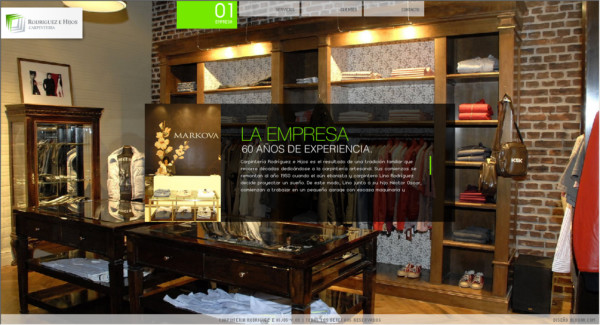 Rodriguez e Hijos On Showcase Of Web Design In  Argentina