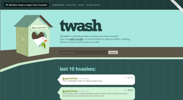 Twash On Showcase Of Web Design In  Argentina